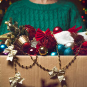 8 Ways to Store Christmas Decorations After the Holidays