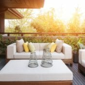 How to Clean and Store Your Patio Cushions
